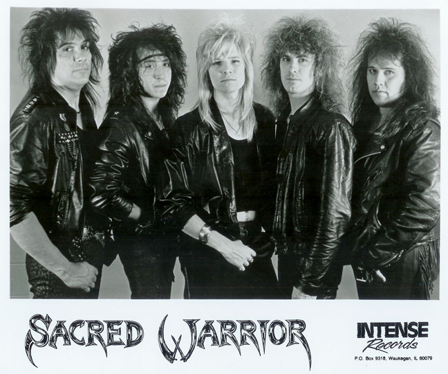 Sacred Warrior - an Christian 80's Metal Band